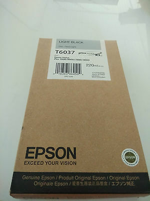 EPSON PHOTO BLACK T6031 Genuine INK 220ml for 7800/9800/7880/9880 printer