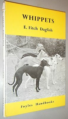 Foyles Handbook Whippets E. Fitch Daglish 1st  First Edition 2nd Printing 1965