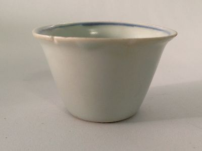 Ming Wanli Period Cup With Chinese Character 福 Fu
