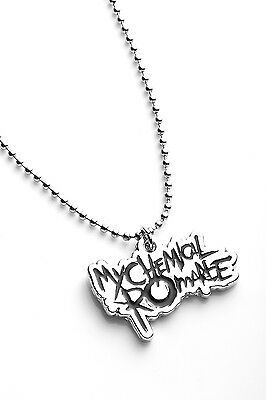 My Chemical Romance Metal Pendant with Chain Ball Necklace Black