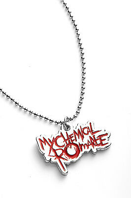 My Chemical Romance Metal Pendant with Chain Ball Necklace Red