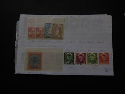 EDW1949SELL : GREENLAND Nice Mint & Used collection in Old Time  pgs Sc Cat $198