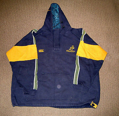 Wallabies Rugby Union Official Merchandise Pullover/Hoodie/Jacket - Size XL -EUC