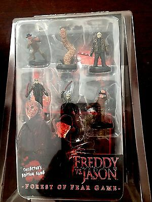 """Freddy vs. Jason """"Forest Of Fear"""" Collector's Edition New Sealed"""