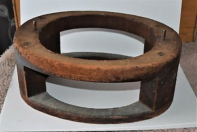 VTG Millinery Hat Block Forming Frame Early 1900s