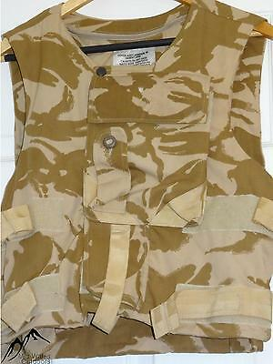 British Military Army Body Armour Cover Desert DPM DDPM Flak Vest 180/104