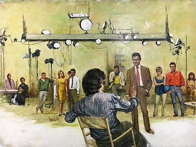 Secrets of Hollywood's Casting Directors Tv Guide  Painting by Louis Marchetti