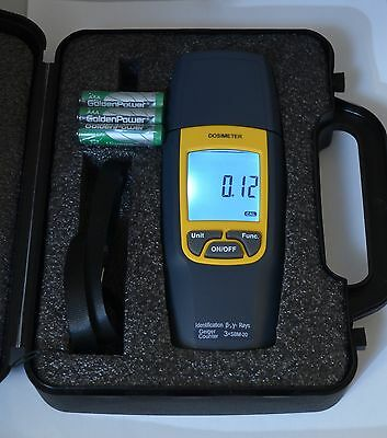Dosimeter THREEFOLD 3 x SBM-20 new generation Radiation detector Geiger Counter