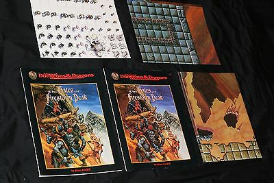 Tsr Advanced Dungeon & Dragons Module 9533 The Gates Of Firestorm Peak Comp. N/m