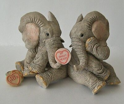 Country Artists Elephant Tuskers Love Is My Sweetheart CA91206 by B Price 2005