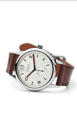 NOMOS GLASHUTTE stainless steel Brown()()