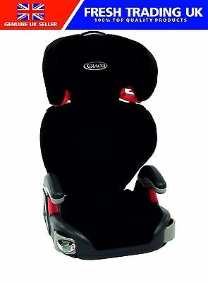 Graco Junior Maxi Group 2/3 Car Seat 1819897 - Black - 4 to 12 Years (15-36kg)