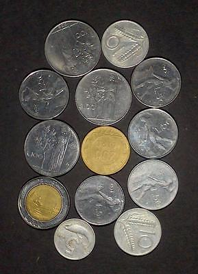 Small lot of coins from Italy (65g)