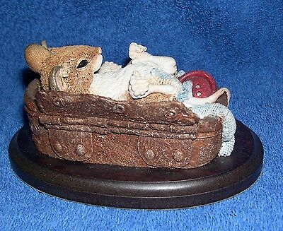 Country Artists Mouse Laying in Old Tin CA1060 Langford 97