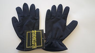 Black Stormkloth Gloves short/gauntlet (waterproof and windproof)