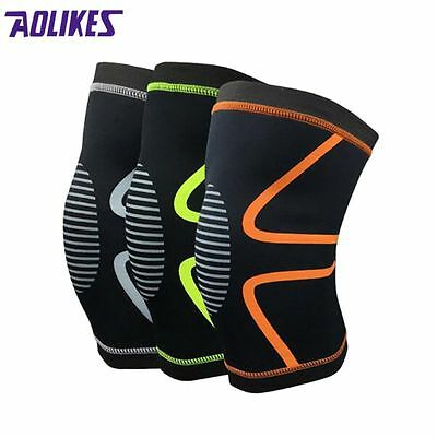 Knee Sleeve Weight Lifting Patella Support Compression Brace Protector Knee Wrap