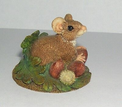 Country Artists Mouse With Acorns Oak Leaves from 1998