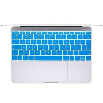 TECNICO Blue Soft 12 inch Translucent Colorized Keyboard Protective Cover Skin