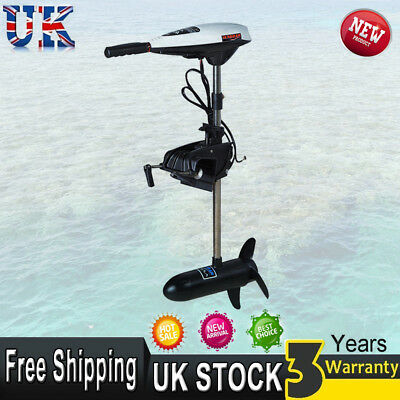 12v 45lb Electric Outboard Motor Trolling Thrust Outboard Engine Boat Dinghy