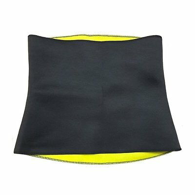 Waist Trimmer Exercise Wrap Belt Slim Burn Fat Sweat Weight Loss Body Shaper 1pc