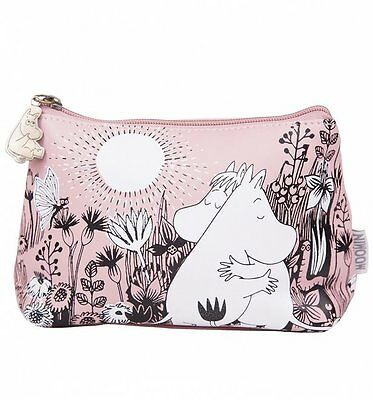 Official Pink Moomins Love Make Up Bag from Disaster Designs