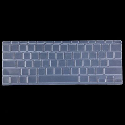 TECNICO Transparent Colorized Apple Laptop Silicone Keyboard Protector Protecti