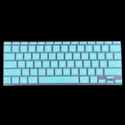 TECNICO Baby Blue Colorized Apple Laptop Silicone Keyboard Protector Protective