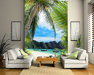 Maldives Bay Beach LUXURY Wall Mural Photo Wallpaper Home Decor Print Bedroom