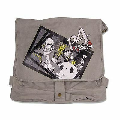 Persona 4 Group Photo Gray Messenger Bag 100% Official - UK Seller