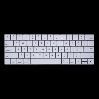 TECHNIC White Silicone Keyboard Protector for MacBook Pro 13.3 inch with Touch