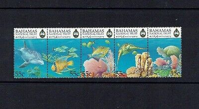 Bahamas: 1999, 40th Anniversary of National Trust, (2nd series)  Fish, MNH set