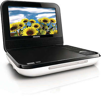 "Philips PD700/37 7Inch "" Portable DVD Player with AC and Car charger"