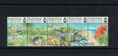 Bahamas: 1999, 40th Anniversary of National Trust, (4th series) Flowers MNH set