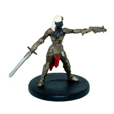 Dungeons and Dragons 5e Miniatures: Rage of Demons - #16 Drow Captain