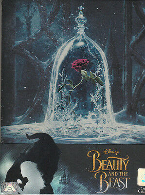 Beauty And The Beast (2017) (Blu-ray Steelbook)  / Region A *,  Emma Watson