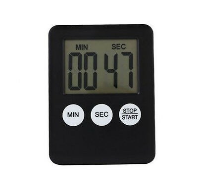 Small Handy Simple Magnetic Timer Lcd Display Cooking Kitchen Down Up Counter