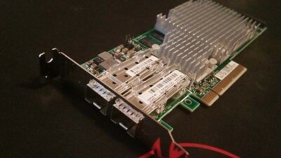 HP 468349-001 NC522SFP 10GbE Dual Port PCI-e 468330-001 468332-B21 Low Profile