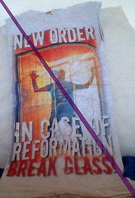 Peter Hook message to New Order SUPER RARE t-shirt