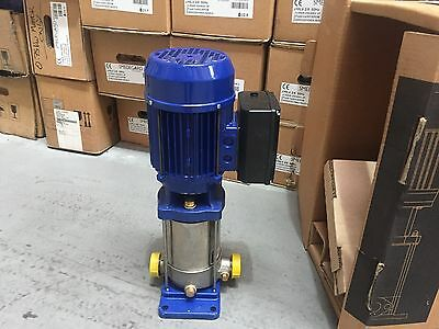 Multi Stage Booster Pump 230v Smedegaard Grundfos Lowara Wilo Godwin Armstrong