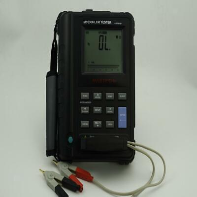 MASTECH MS5308 Portable Handheld LCR Meter 100Khz Serial Parallel Tester