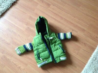 great baby boy coat by next green three to six months