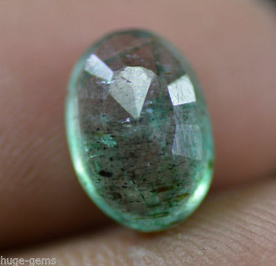 Superb Quality 2.75 Ct Natural Oval Shape Green Emerald Gemstone~ EGL Certified