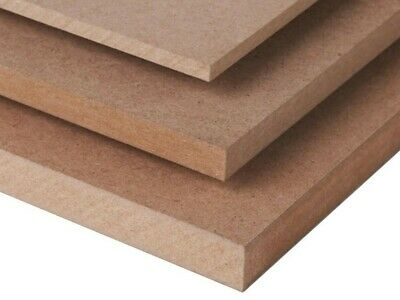 MDF 4' x 2' sheets boards 2mm,3mm,4mm,6mm,9mm,12mm,15mm,18mm,22mm,25mm thickness
