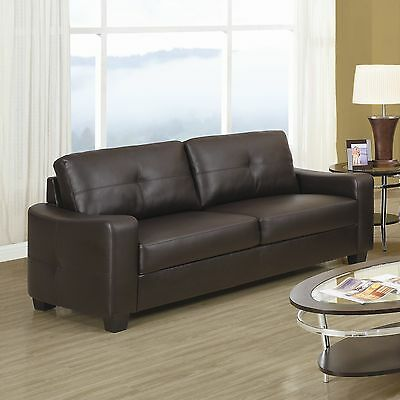 Rahr Leather Sofa Red Barrel Studio FREE SHIPPING (BRAND NEW)