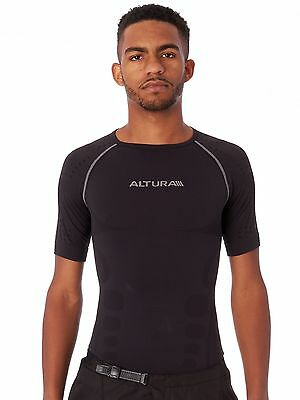 Altura Grey 2016 Second Skin Short Sleeved Baselayer Top