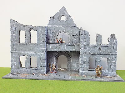 28mm Any Period RUINED CHURCH SCENERY Mordheim COLLECTION ONLY 41793