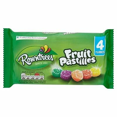 Rowntree's Fruit Pastilles Sweets 4 Pack 4 x 52g