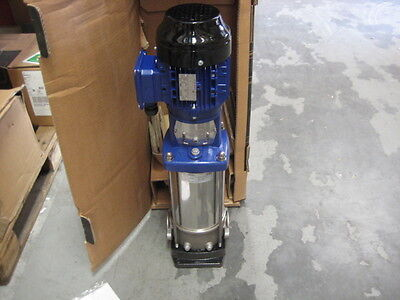Multistage Booster Pump 400v 1.1kW 1450RPM Grundfos Lowara Wilo Godwin Armstrong
