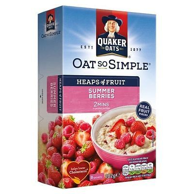 Quaker Oat So Simple Summer Berries 282g