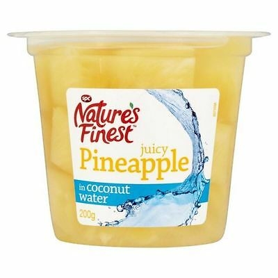 Natures Finest Pineapple in Coconut Water 108g